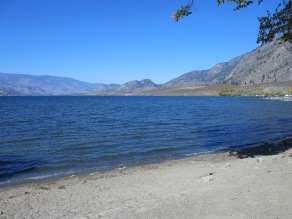 Lake Osoyoos, looking north