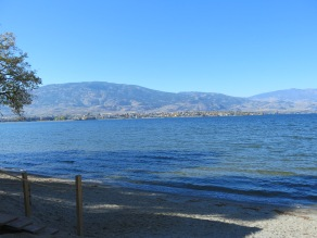 Lake Osoyoos, looking south