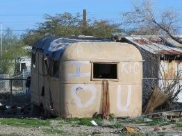 Derelict trailer